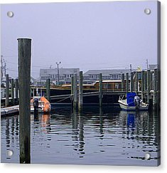 Acrylic Print featuring the photograph Watch Hill Marina by Joan Hartenstein