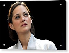 Marion Cotillard At Arrivals For Bike Acrylic Print by Everett