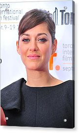 Marion Cotillard At Arrivals For Little Acrylic Print by Everett