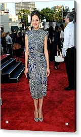 Marion Cotillard Wearing An Elie Saab Acrylic Print by Everett