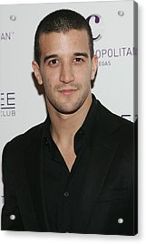 Mark Ballas At Arrivals For Kim Acrylic Print by Everett