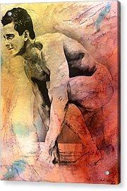 Mark Acrylic Print by Mark Ashkenazi