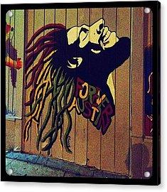 Marley Mural Acrylic Print