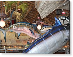Marlin Bar Acrylic Print