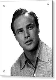 Marlon Brando, 1953 Acrylic Print by Everett