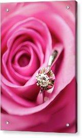 Marriage Proposal Acrylic Print by Elias Kordelakos Photography