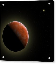 Mars - The Red Planet Acrylic Print