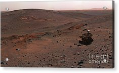 Mars Exploration Rover Spirit Acrylic Print by Stocktrek Images
