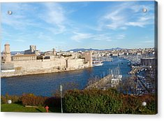 Marseille Vieux Port Acrylic Print