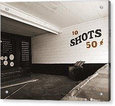 Marshall Hall Shooting Gallery Acrylic Print by Jan W Faul
