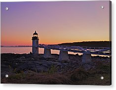 Marshell Point Light House Acrylic Print