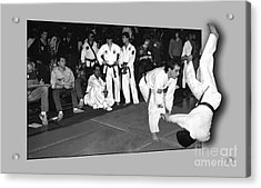 Martial Arts 4 Acrylic Print by Jeff Breiman