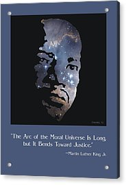 Martin Luther King, Jr. Poster Acrylic Print