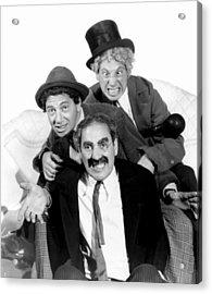 Marx Brothers - Groucho Marx, Chico Acrylic Print by Everett