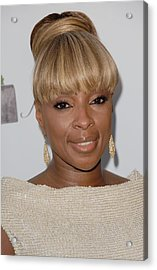 Mary J Blige At Arrivals For 2011 Acrylic Print