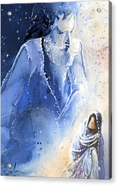 Mary Magdalene Acrylic Print by Miki De Goodaboom