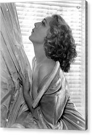 Mary Pickford, 1935 Acrylic Print by Everett