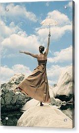 Mary Poppins Acrylic Print by Joana Kruse