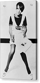 Mary Quant, British Mod Fashion Acrylic Print by Everett