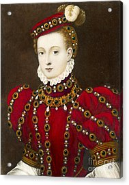 Mary Queen Of Scots Acrylic Print by Mary Evans Picture Library and Photo Researchers