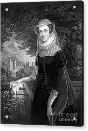 Mary Queen Of Scots Acrylic Print by Photo Researchers
