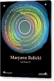 Maryann Balicki Acrylic Print