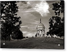 Maryland Monument - Antietam Acrylic Print by Judi Quelland