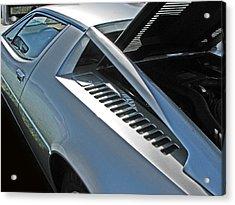 Maserati Merak Detail Acrylic Print by Samuel Sheats