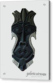 Mask 2 2006 Acrylic Print by Eduardo Leiva