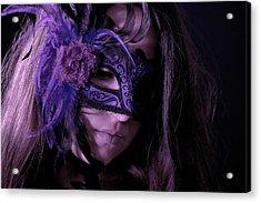 Mask Acrylic Print by Joana Kruse