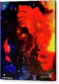 Masked Illusion Acrylic Print