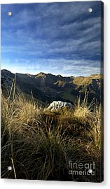 Massif Of Sancy In Auvergne. France Acrylic Print