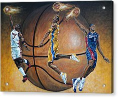 Masters Of The Game Acrylic Print by Billy Leslie