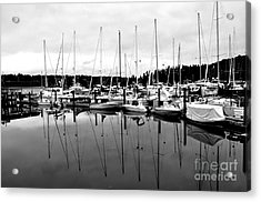 Masts Over And Under Acrylic Print