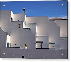 Matagorda Balconies Acrylic Print
