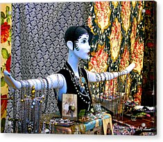 Material Girl Acrylic Print by Michael Durst