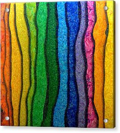 Matiz Acrylic Print by RochVanh