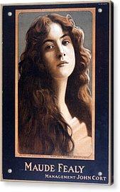 Maude Fealy 1881-1971, American Acrylic Print by Everett