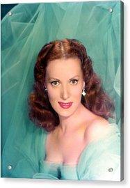 Maureen Ohara, 1940s Acrylic Print by Everett