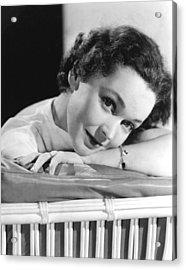 Maureen Osullivan, Ca 1950 Acrylic Print by Everett