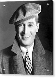 Maurice Chevalier, Ca. 1930 Acrylic Print by Everett