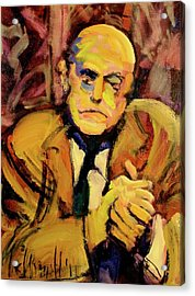 Max Beckman Acrylic Print by Les Leffingwell