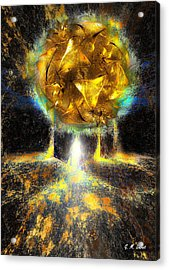 Maximum Liftoff Acrylic Print by Michael Durst