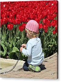 May Day May Day Acrylic Print by Todd Sherlock