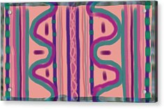 Maya Acrylic Print by Rosana Ortiz