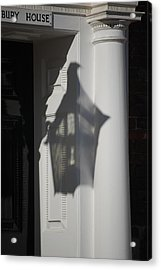 Mayfair Shadows Acrylic Print by Dickon Thompson