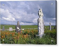 Mayo Cemetery Acrylic Print