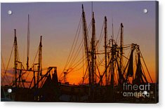 Mayport Acrylic Print by Lydia Holly