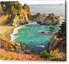 Mc Way Falls Cove Acrylic Print