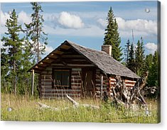 Mccarthy Homestead Acrylic Print by Katie LaSalle-Lowery